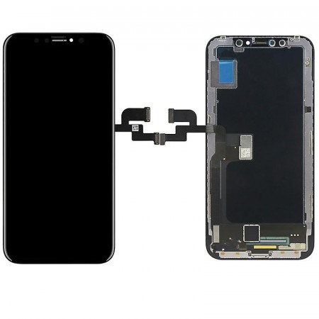 iPhone X/Xs komplett Front Panel med montering